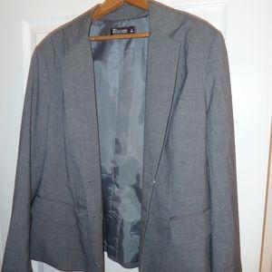 Gray suit jack